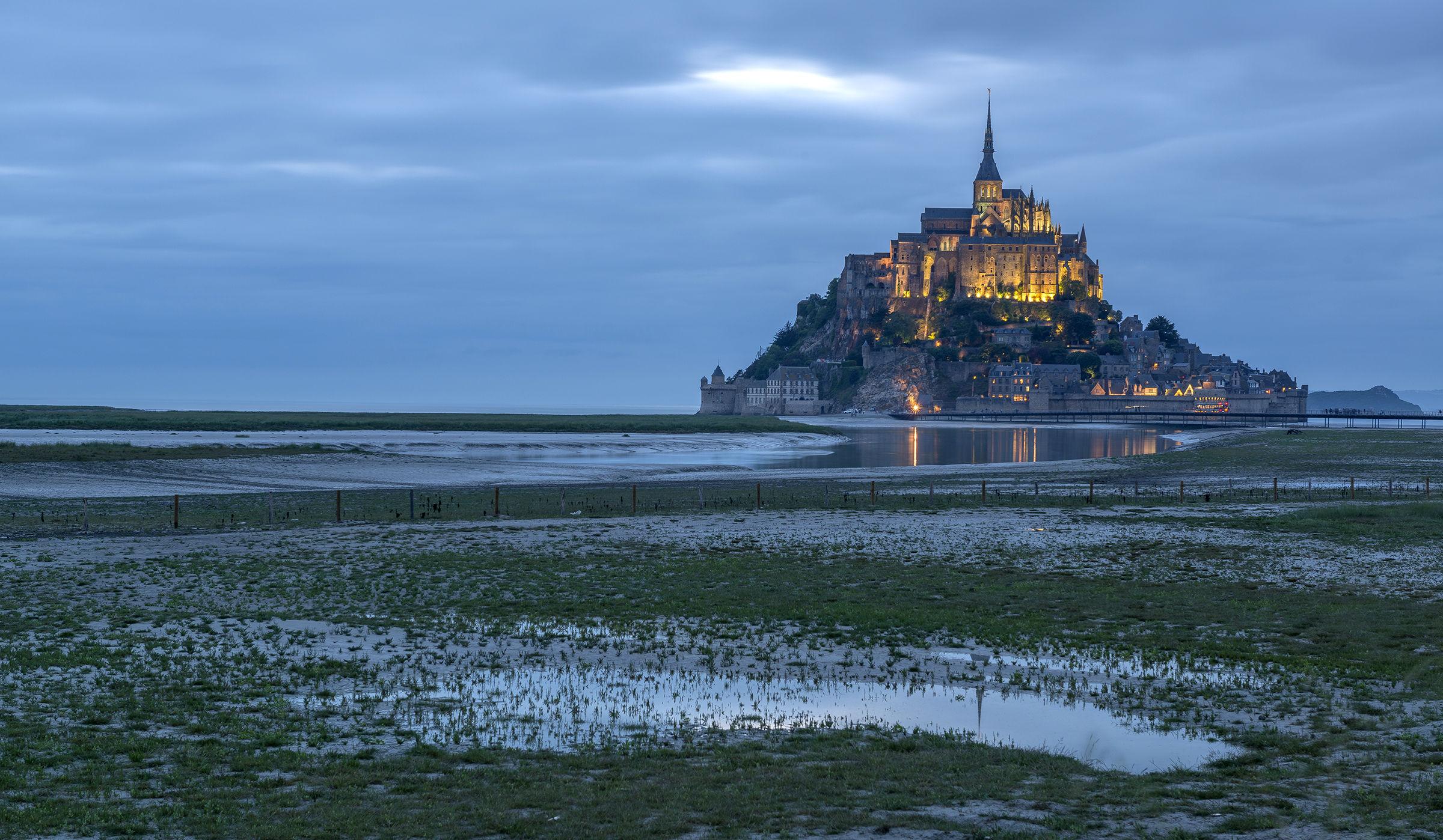 Le Mont Saint Michel...