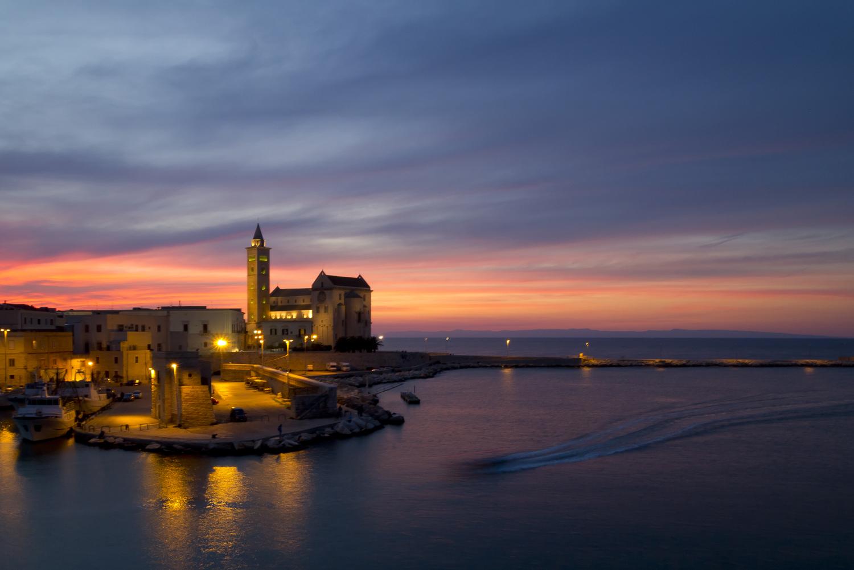 Trani - First autumn sunset...