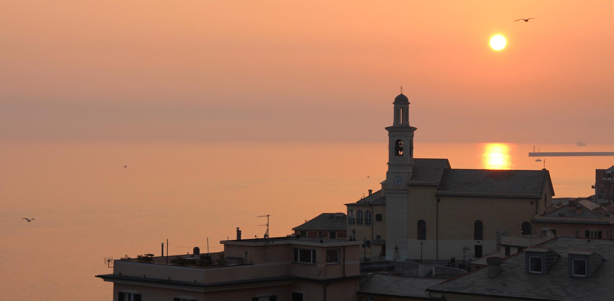 The page in Capo Santa Chiara...