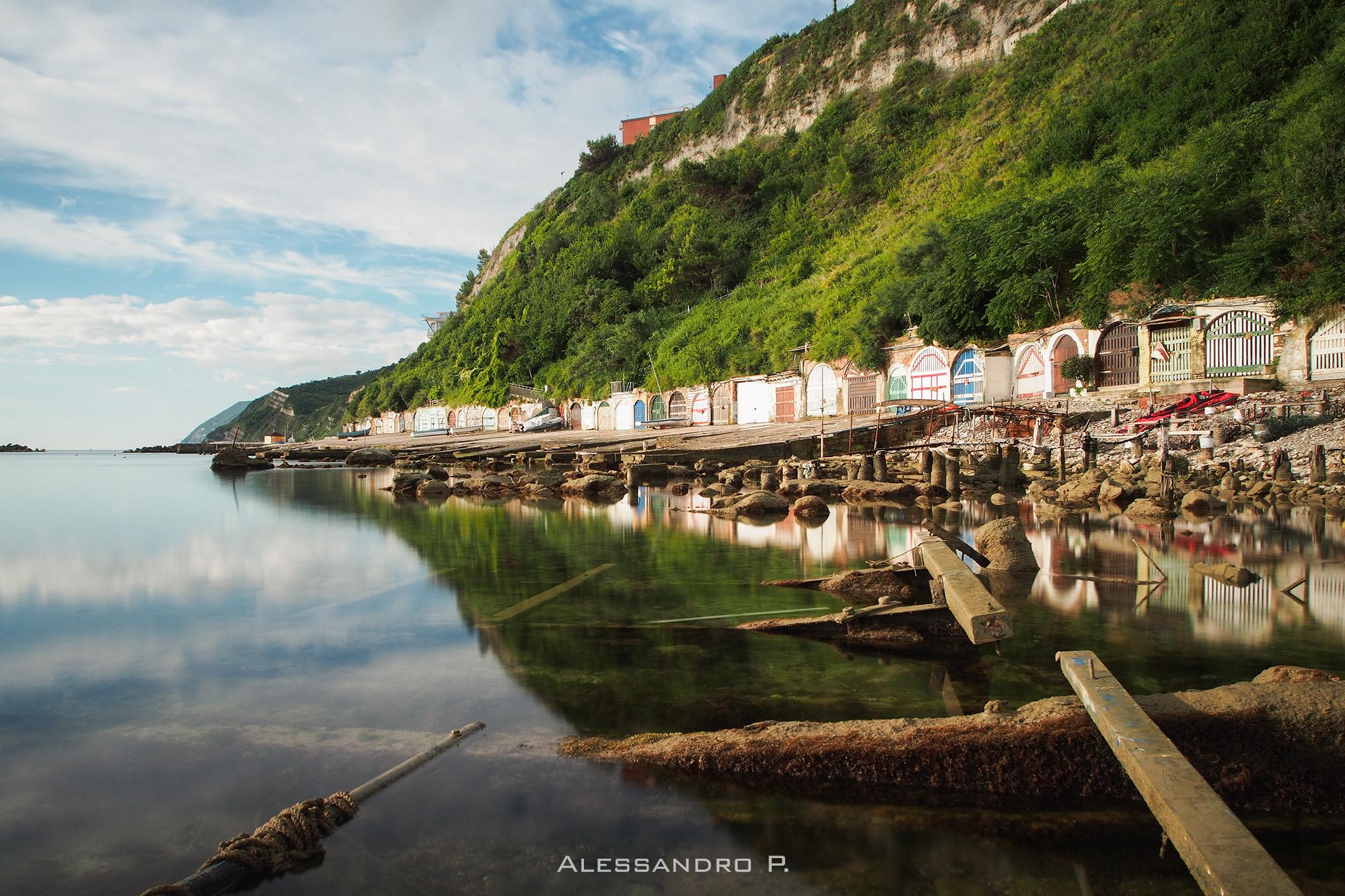 I reflect, Ancona, Italy...