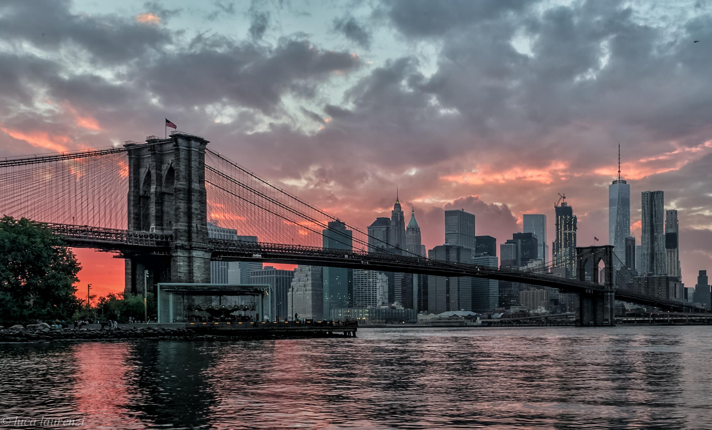 Sunset in Manhattan...