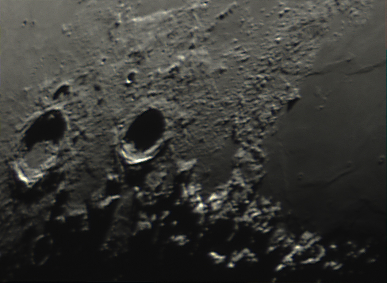 how many Craters...