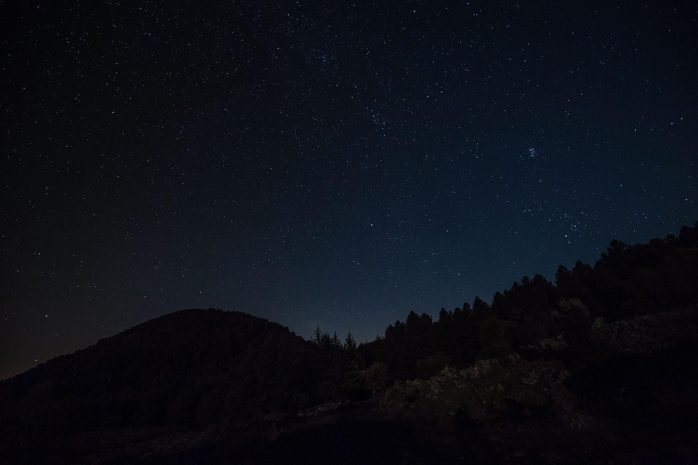 Il cielo dell'Etna...