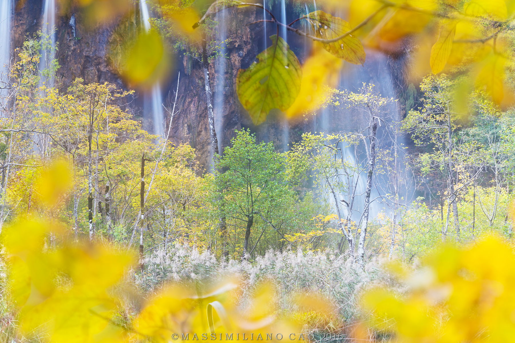 The colors of the wonderful Plitvice park...
