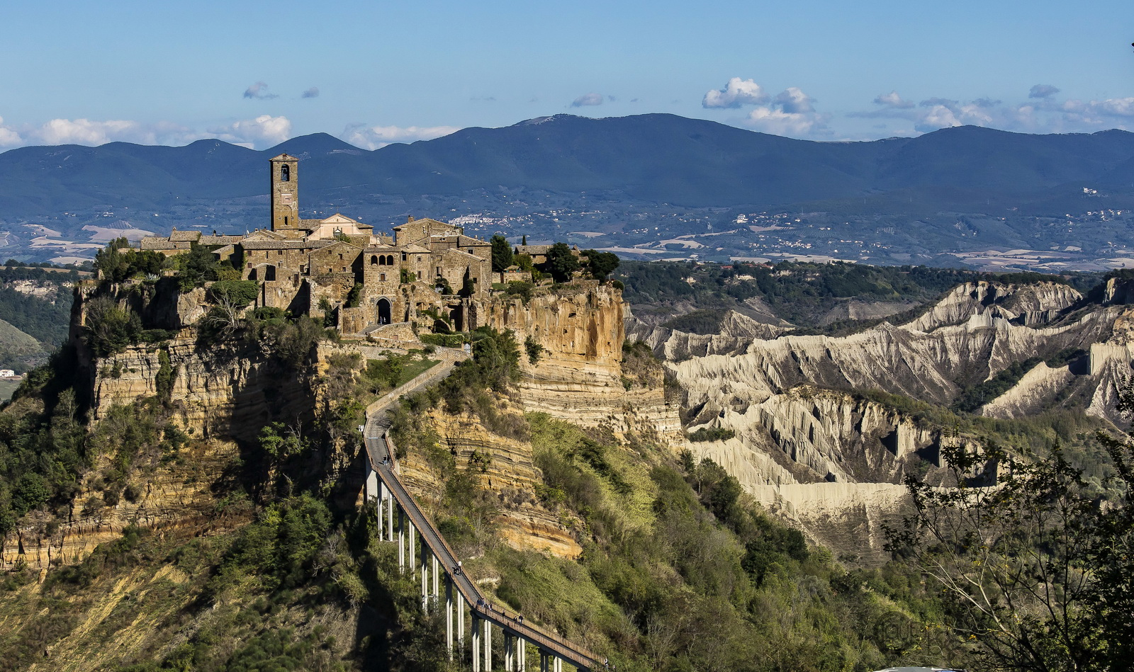 Civita di Bagnoregio and the Valley of the Badlands...