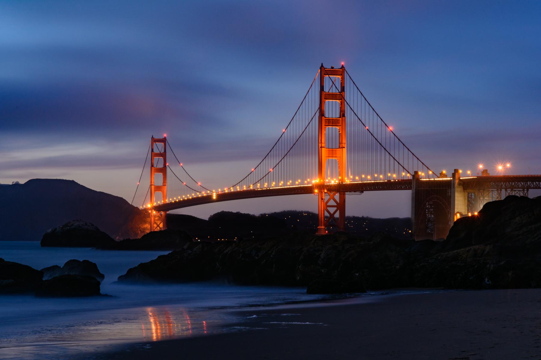 Golden Gate sunset...
