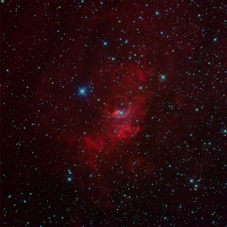 Bubble Nebula...