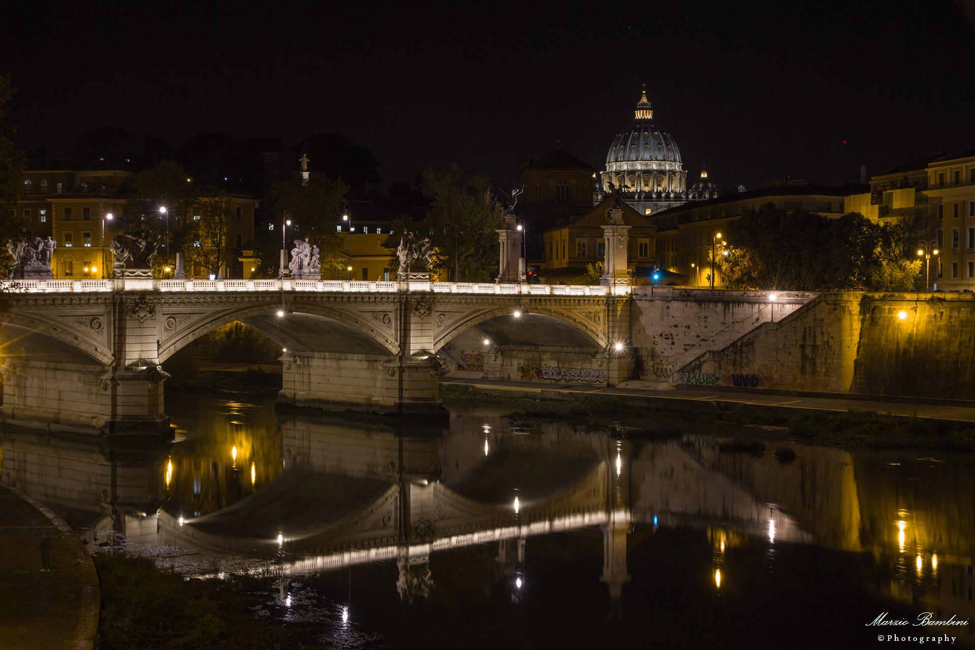 Rome Ponte Vittorio Emanuele II...