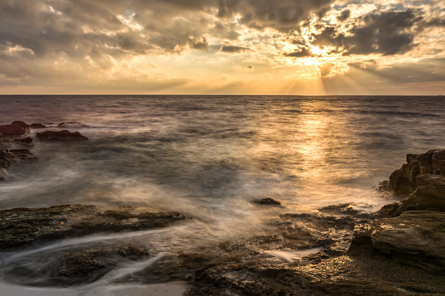 Sunset at Calafuria...