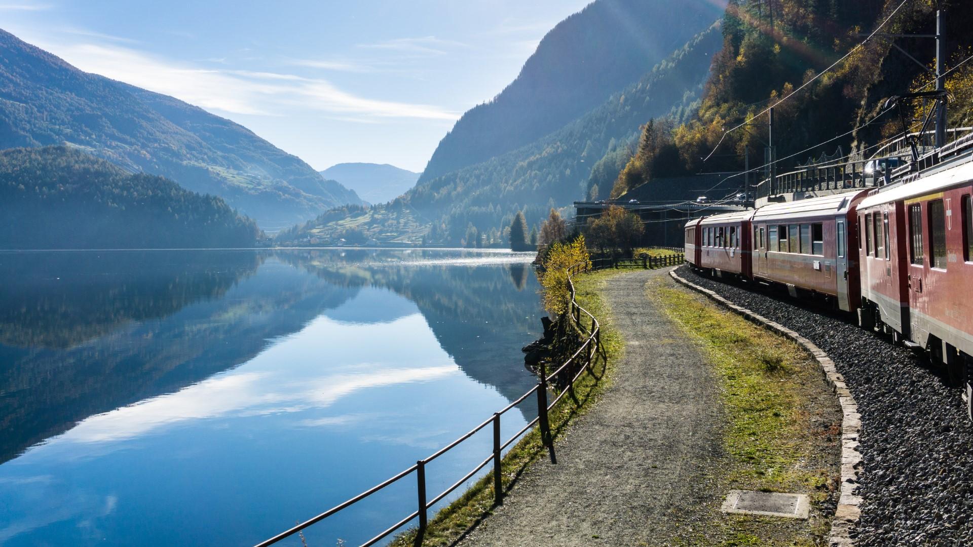 Miralago, Tirano, the Bernina Train...