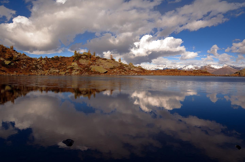 Small lake....