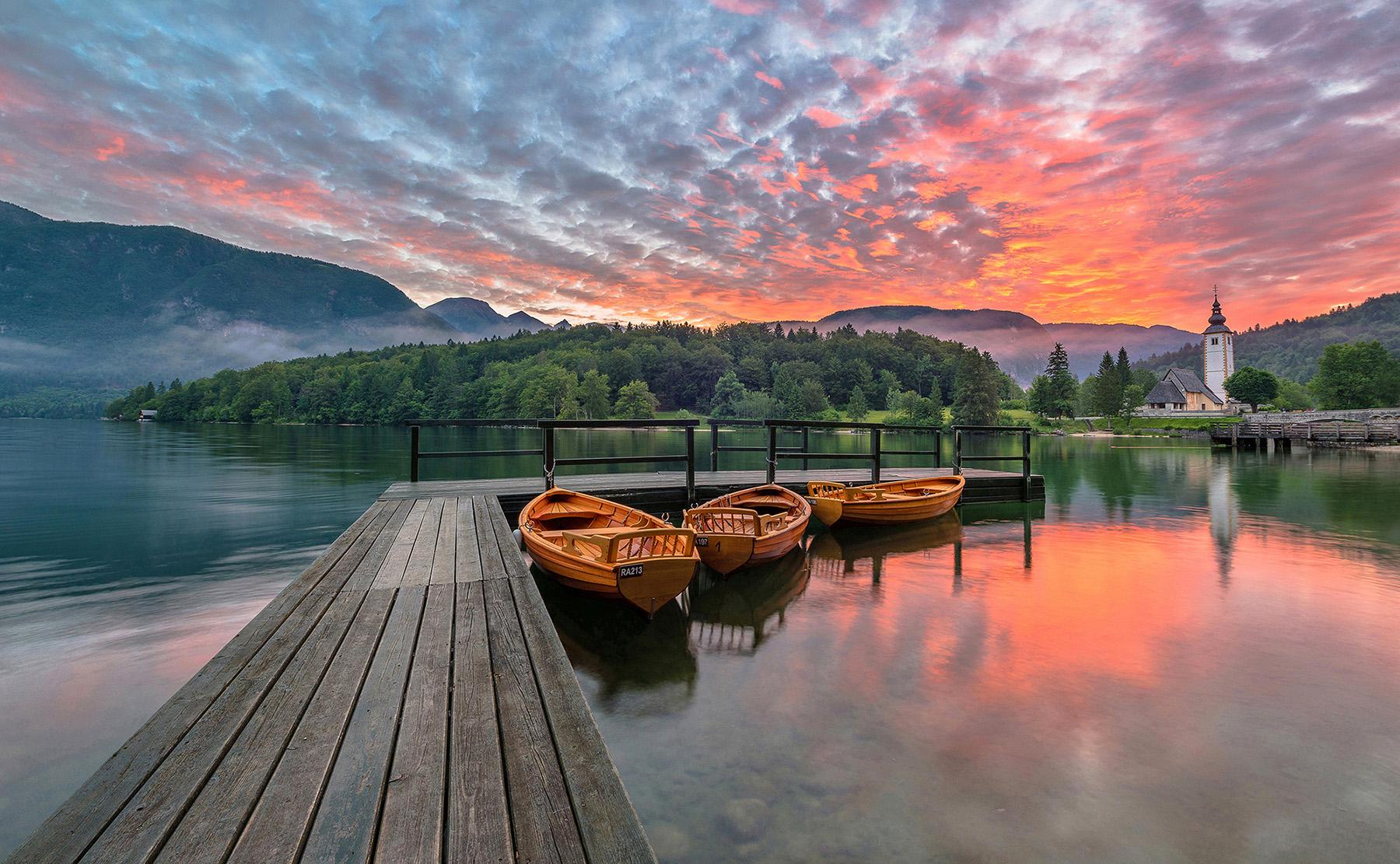 Lake Bohinj...