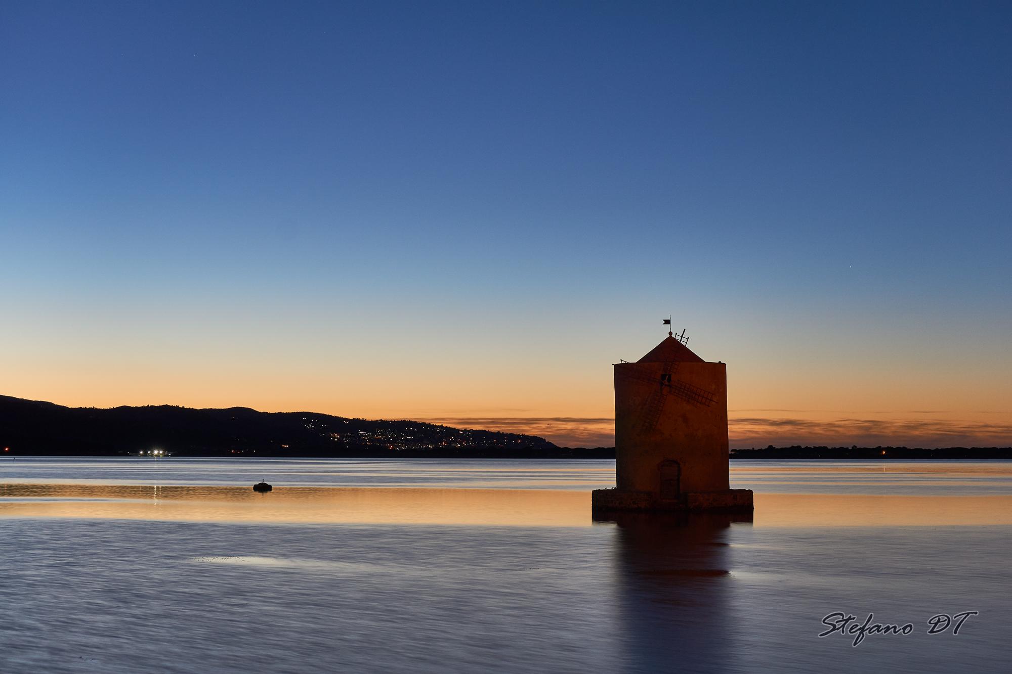 Spanish mill, Orbetello...