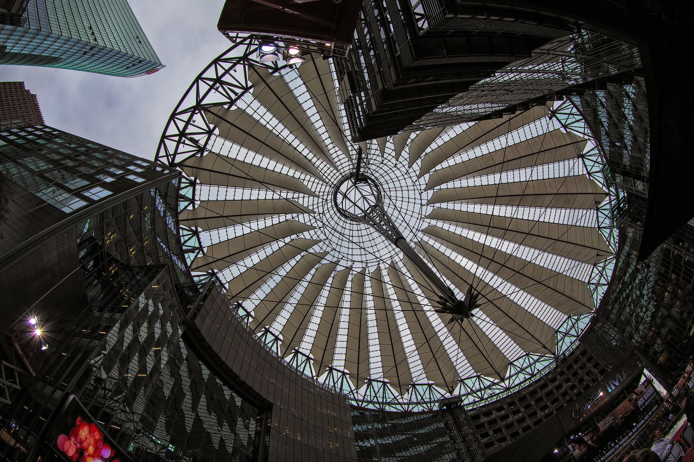 Sony Center Berlin...