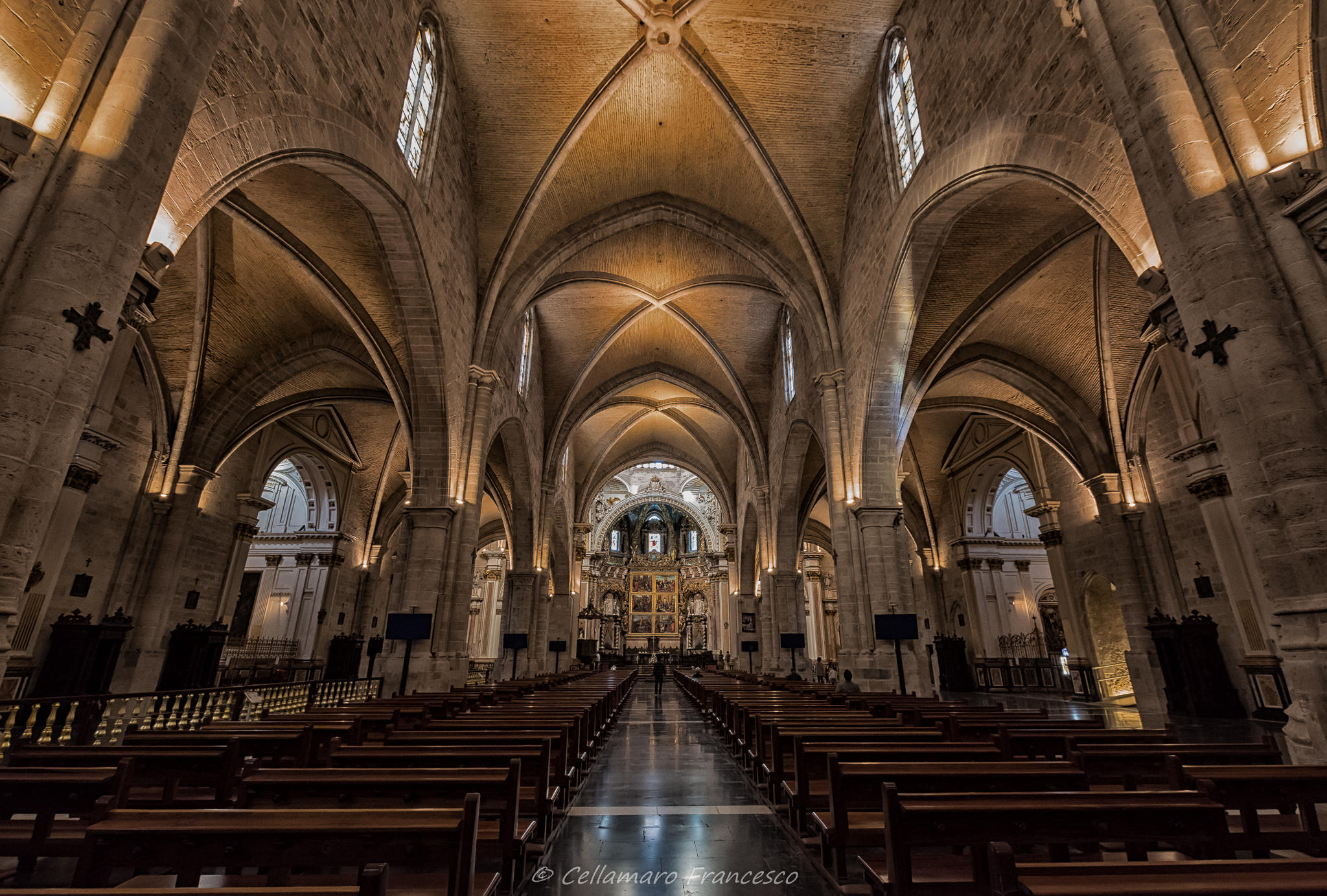Cathedral of valencia...