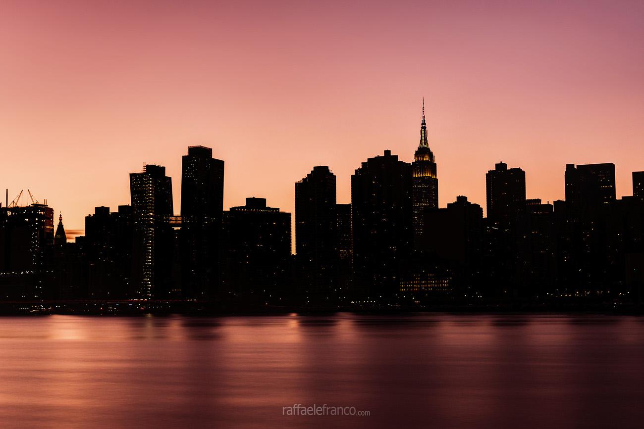 Tramonto su Manhattan...