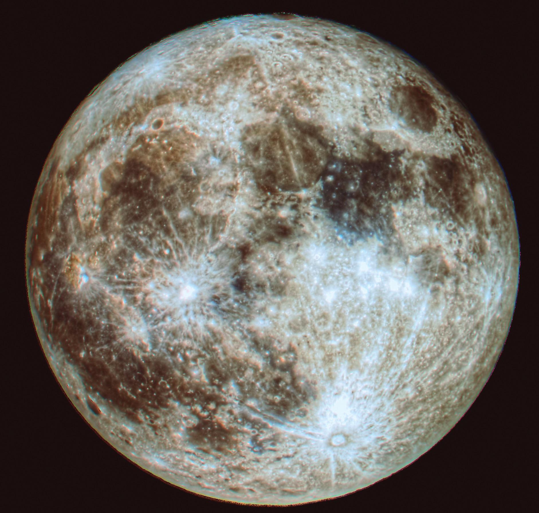 The nearby Luna...