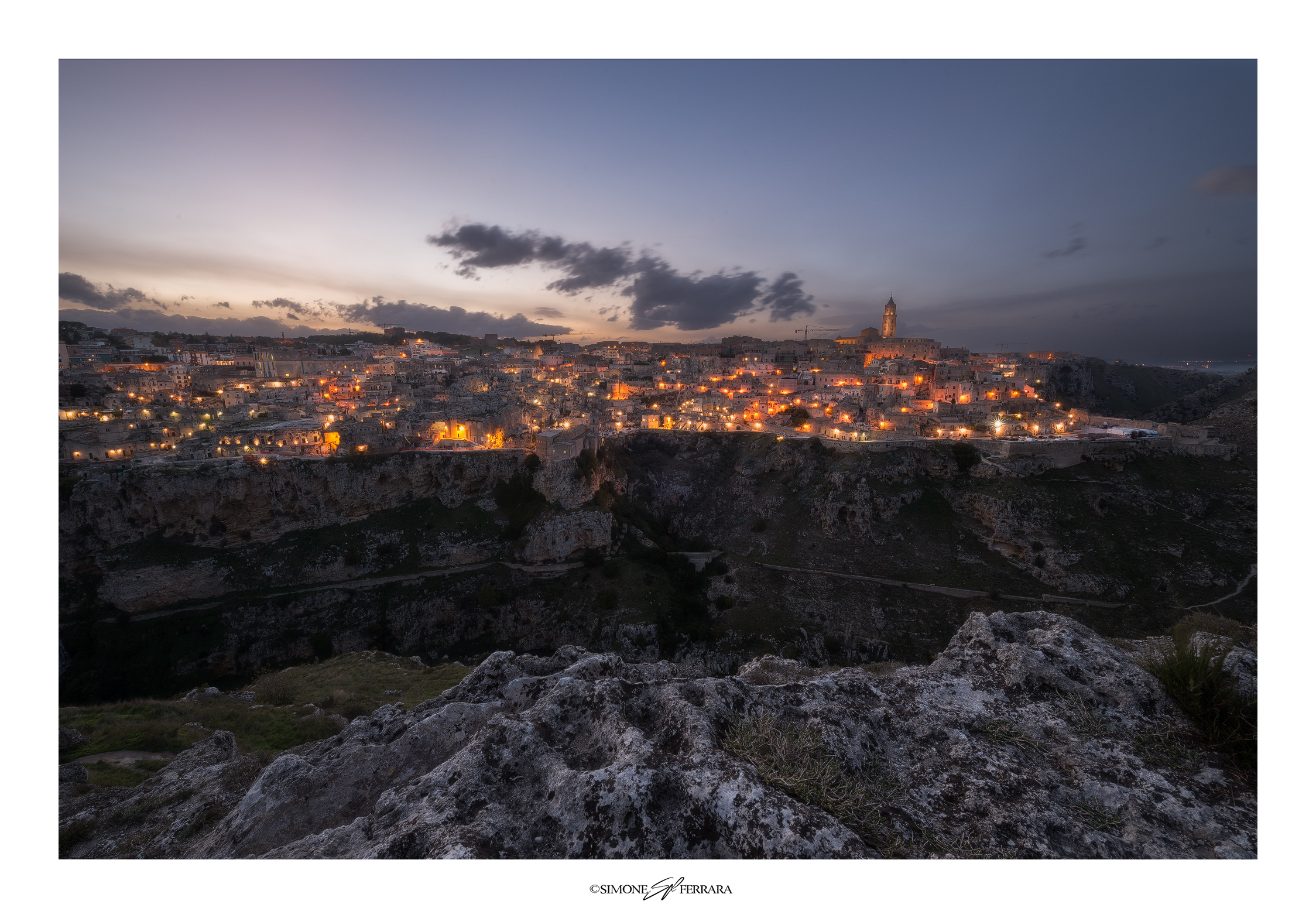 The Lights of Matera...