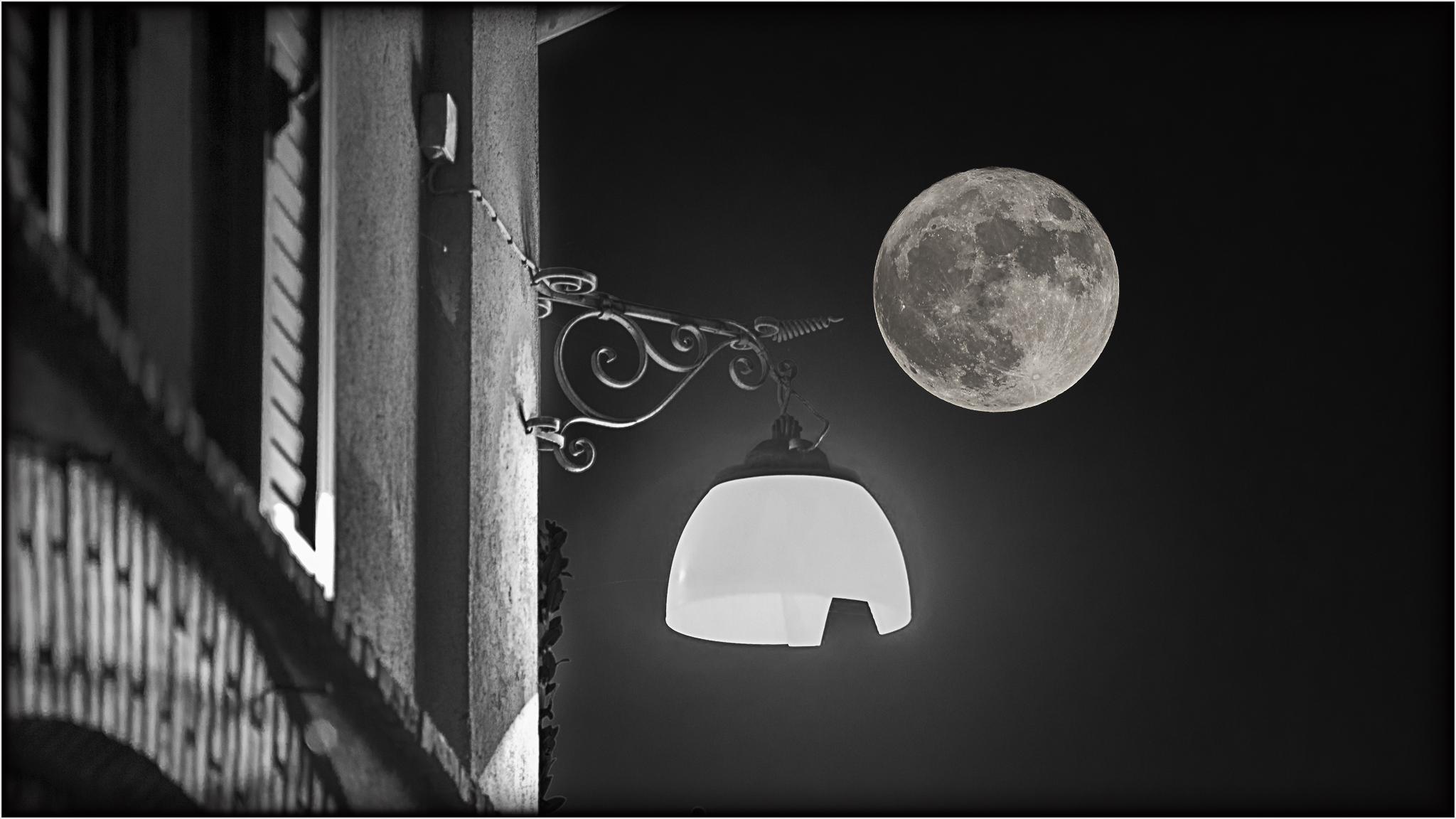 supermoon my light ......