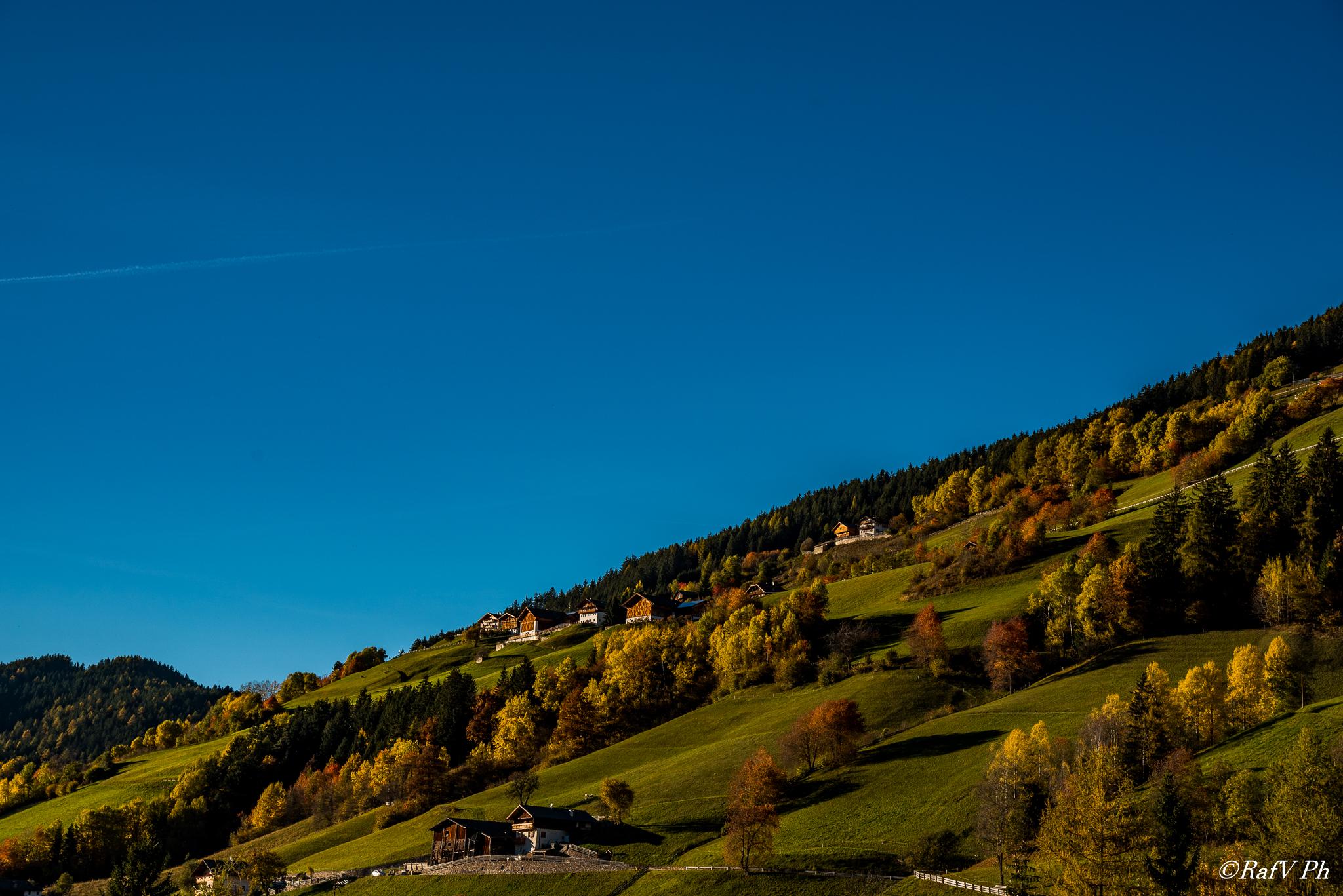 I colori dell'Autunno in Val Di Funés...