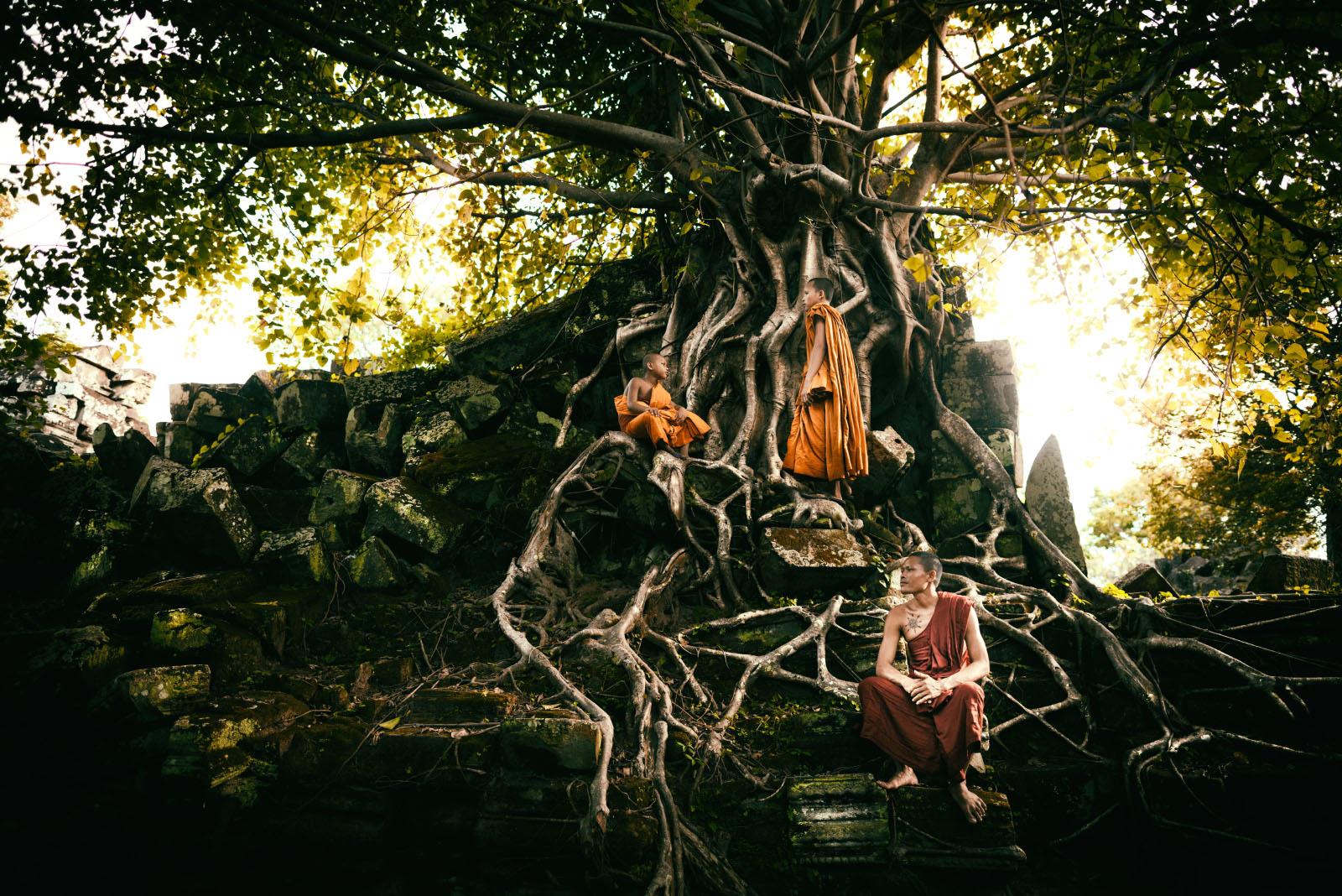 Angkor, Cambodia...