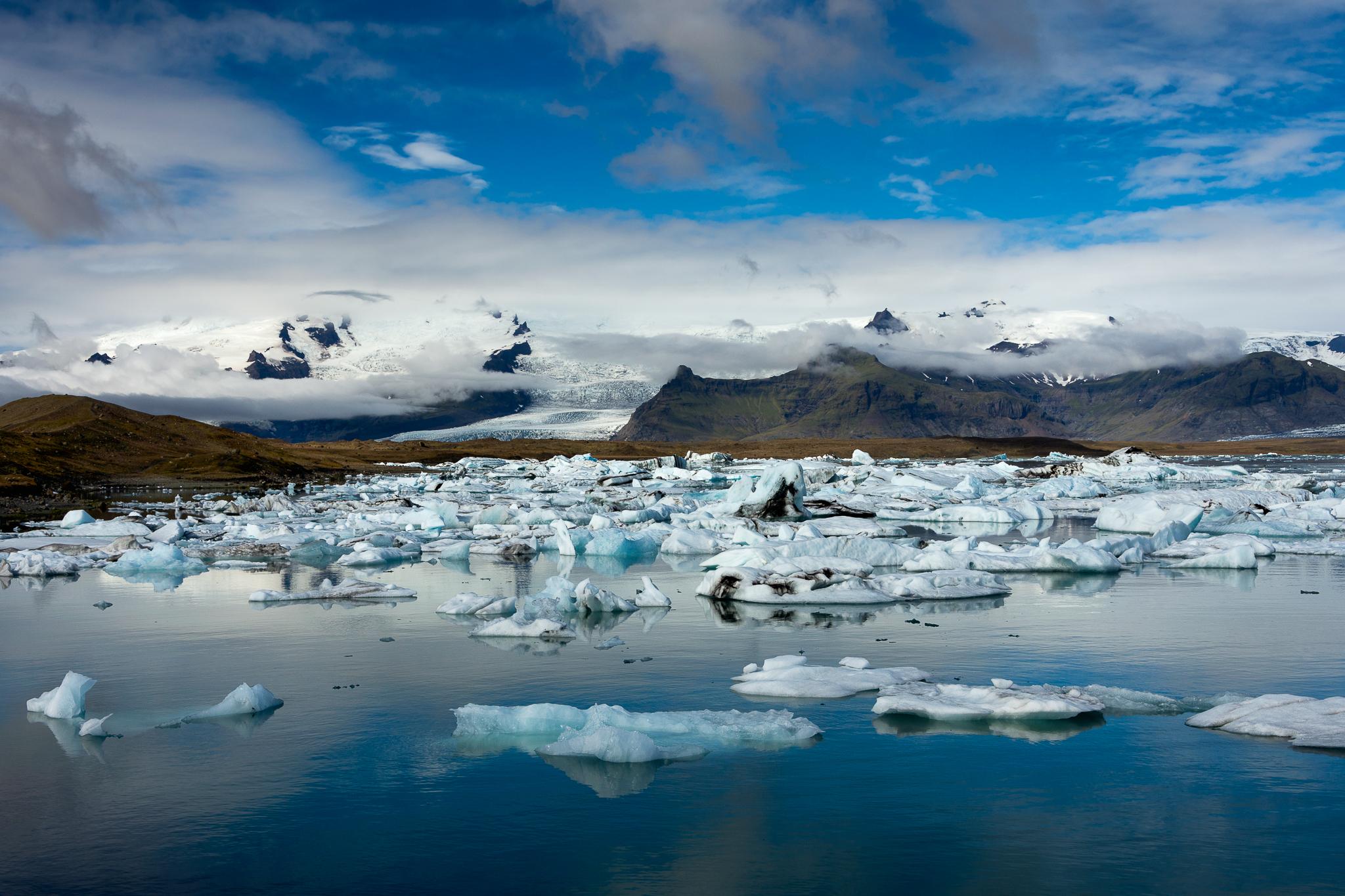 Jökulsárlón - Glacier Lagoon...