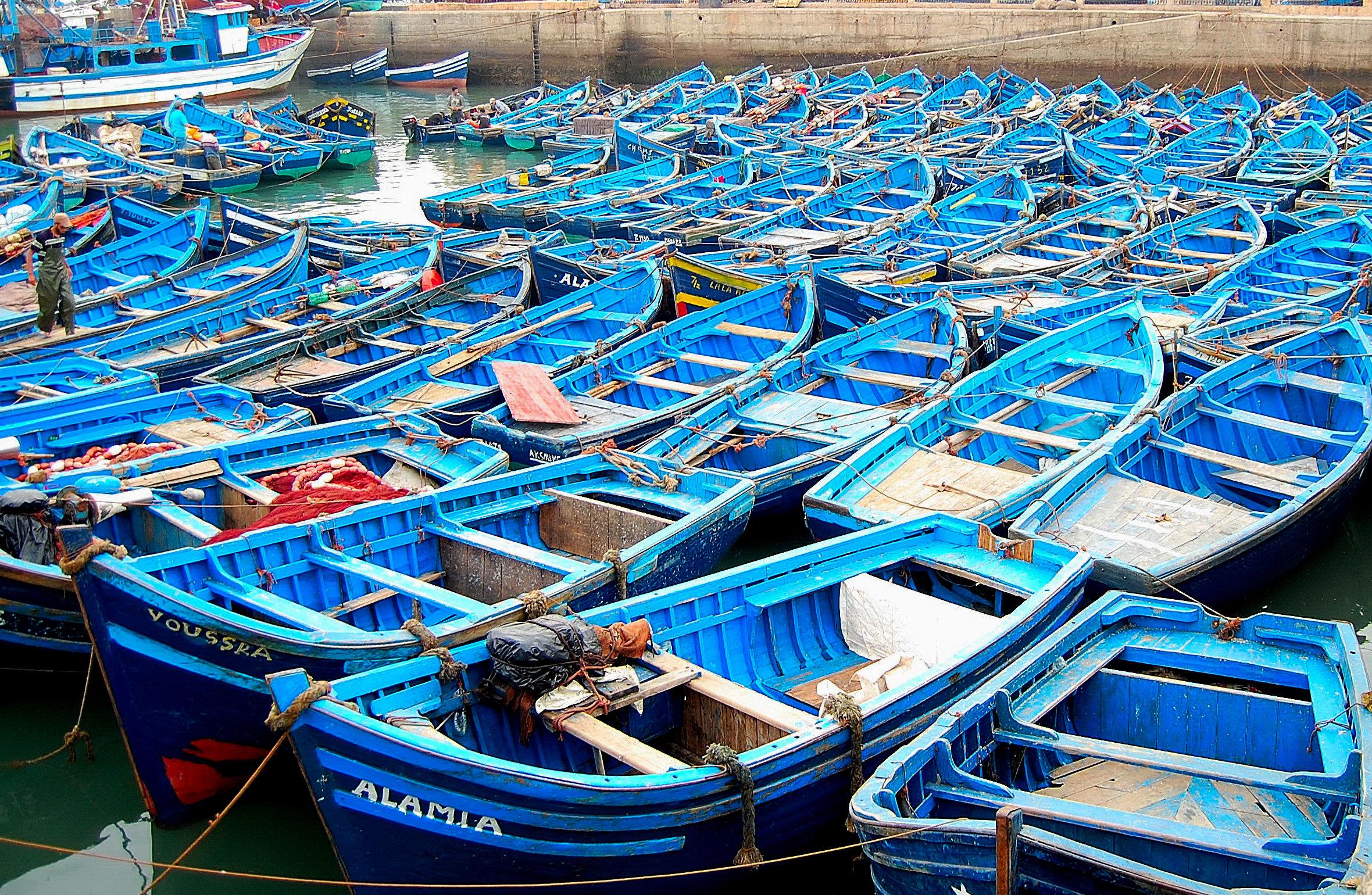 Morocco: Complete mooring in Essaouira...