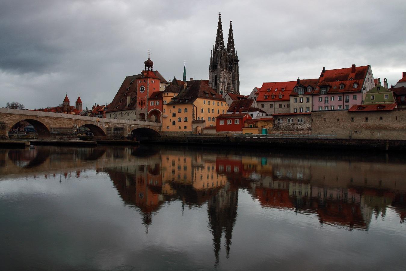 Postcard from Regensburg...