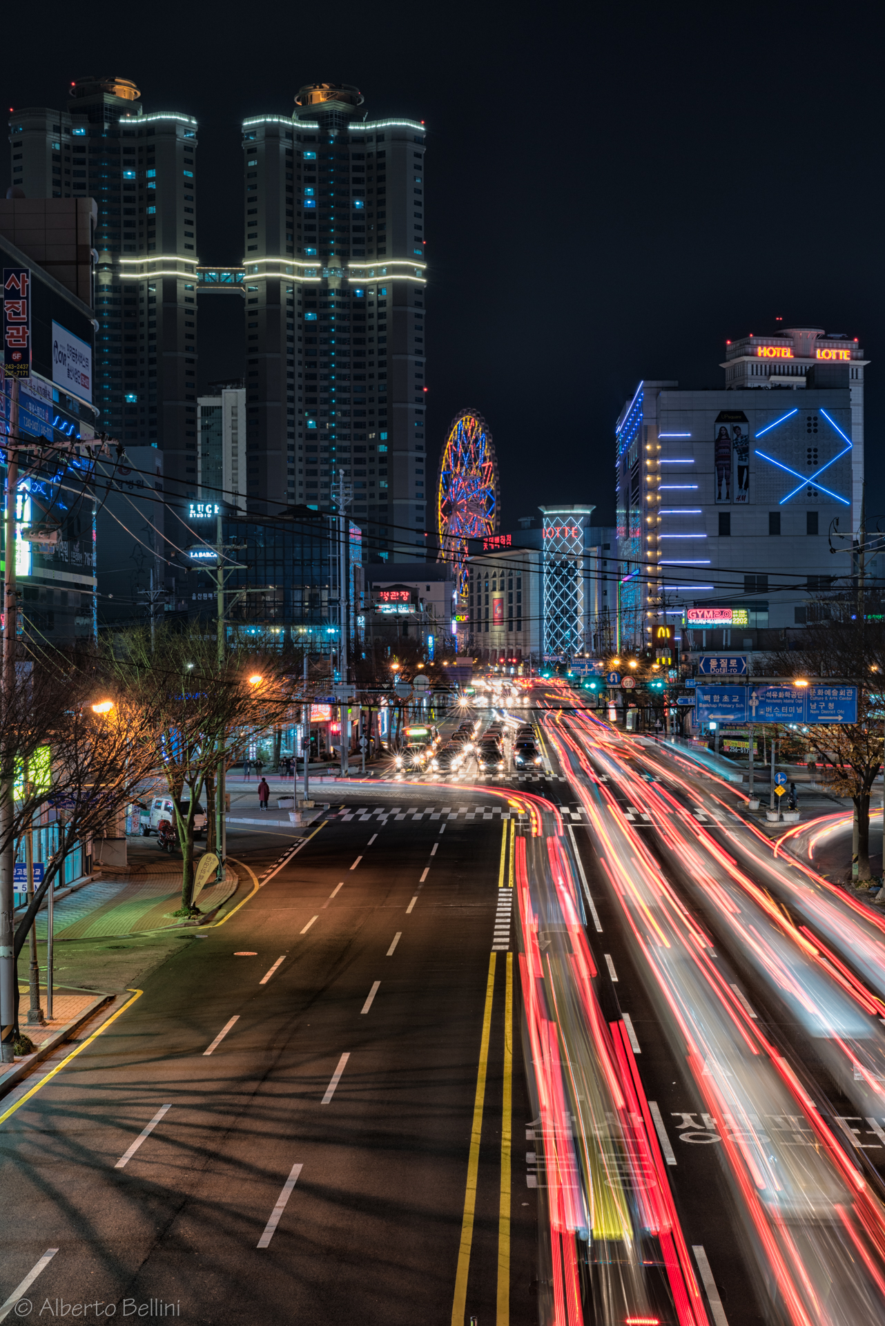 Ulsan - Traffic & Lights...
