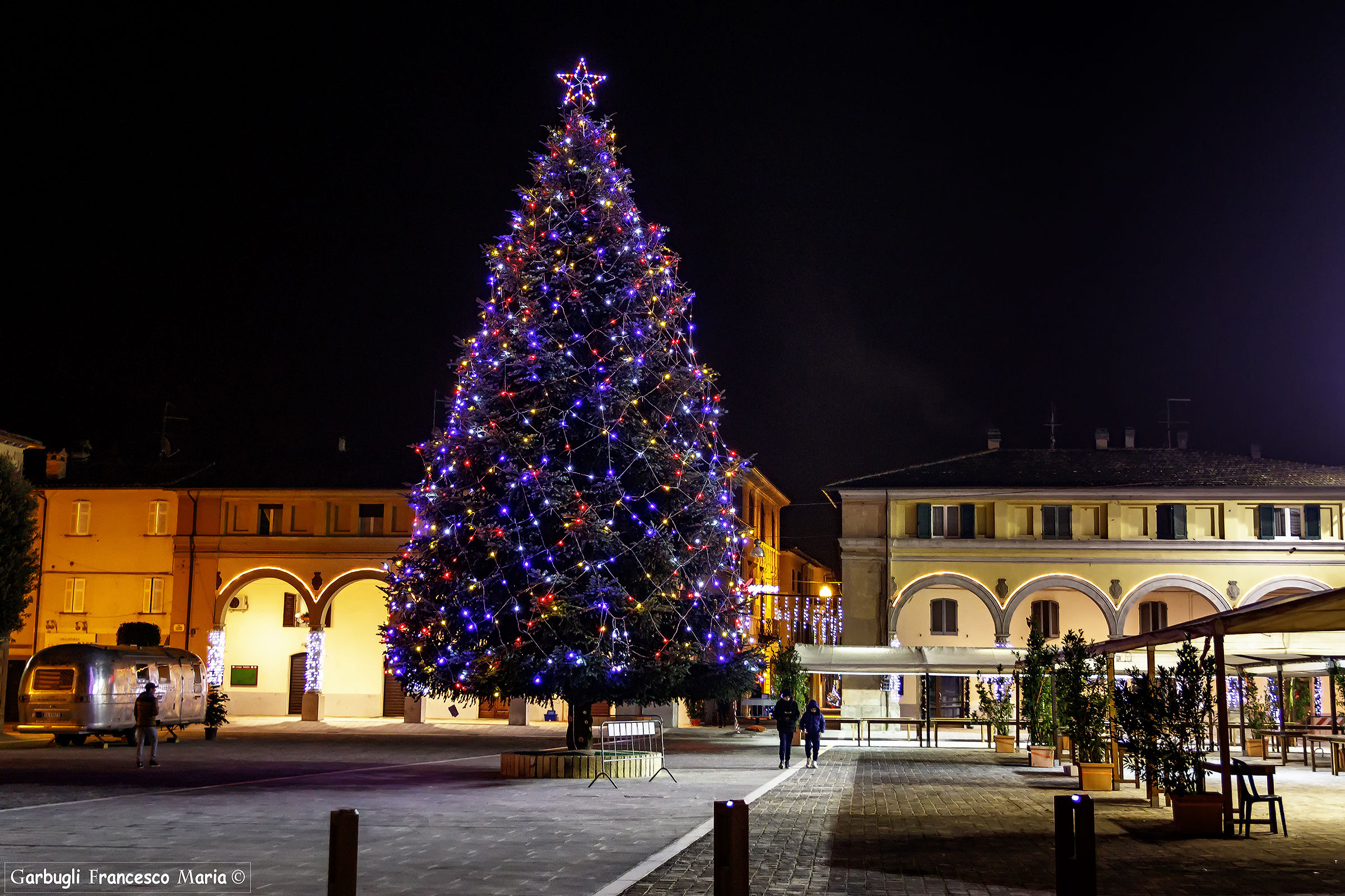 The new square of Fermignano ..... dressed up...