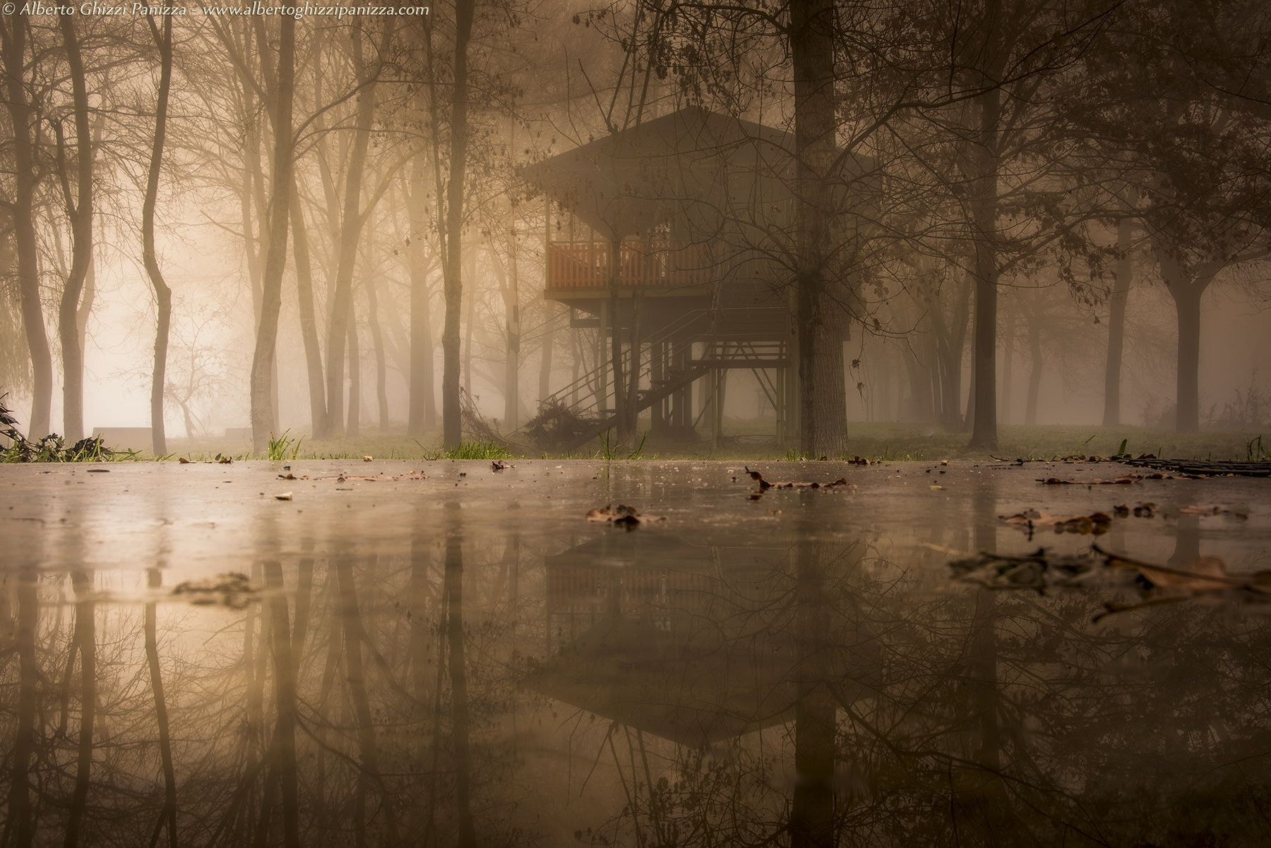 The house in the fog...