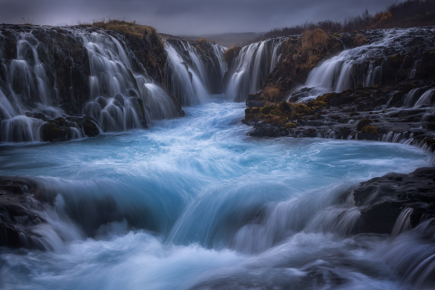 The amazing Bruarfoss...
