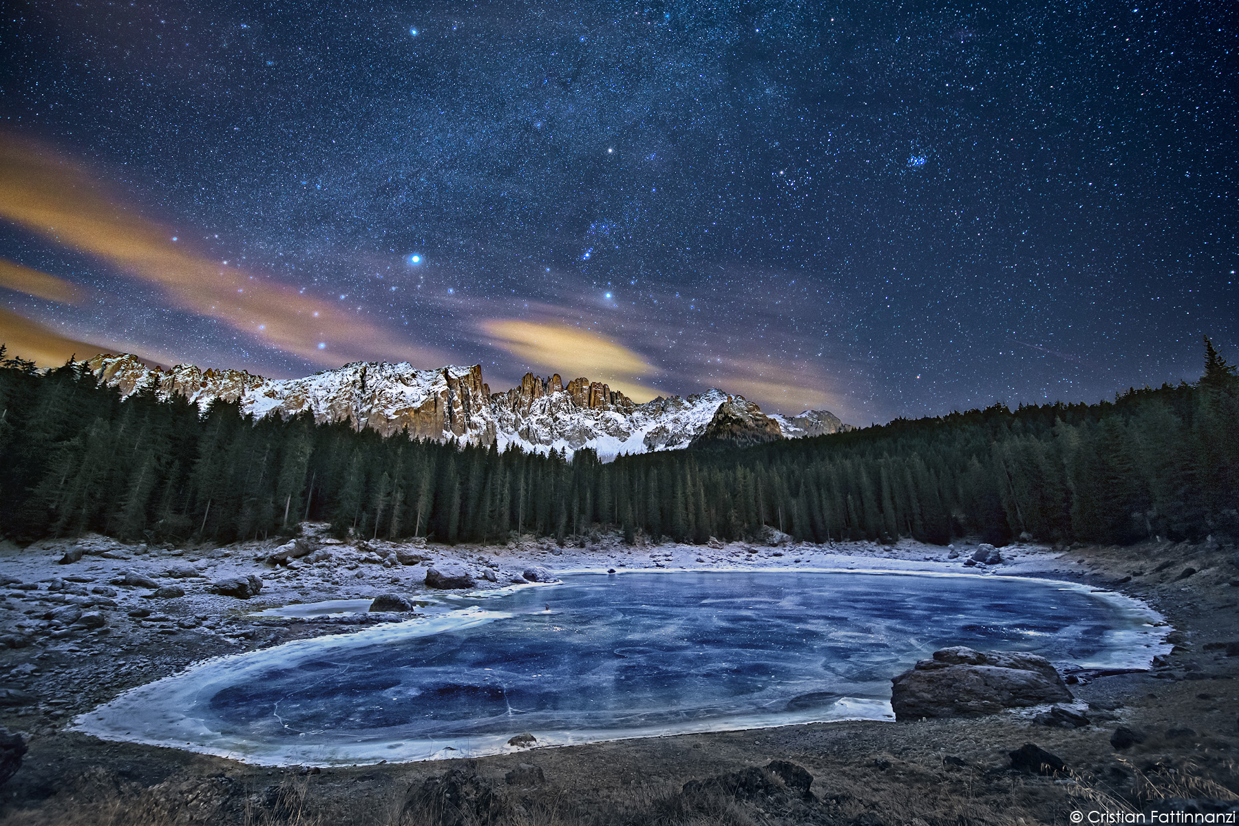 """""""The frozen lake""""..."""