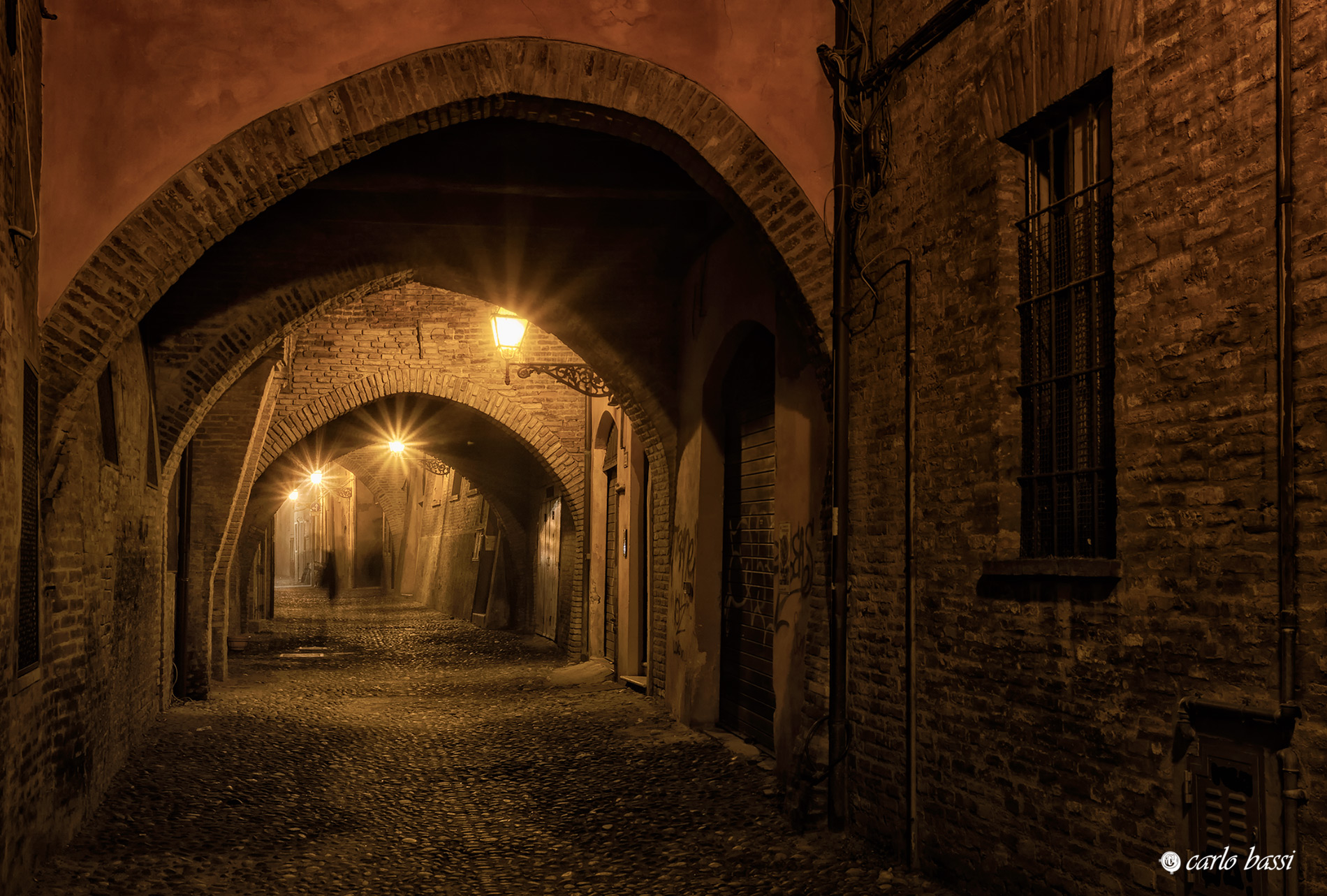 The ancient streets...