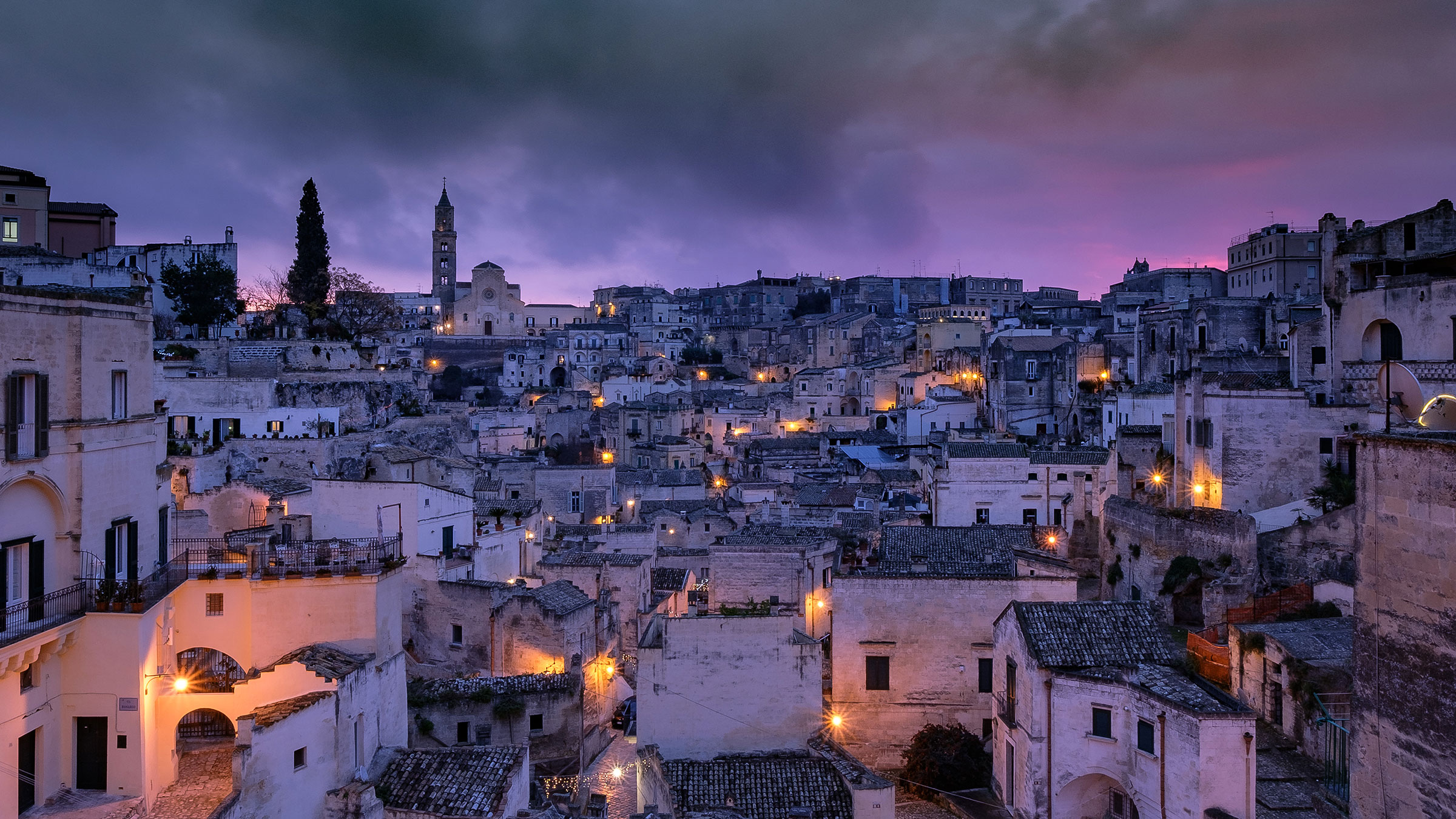 Matera - drizzly dawn...