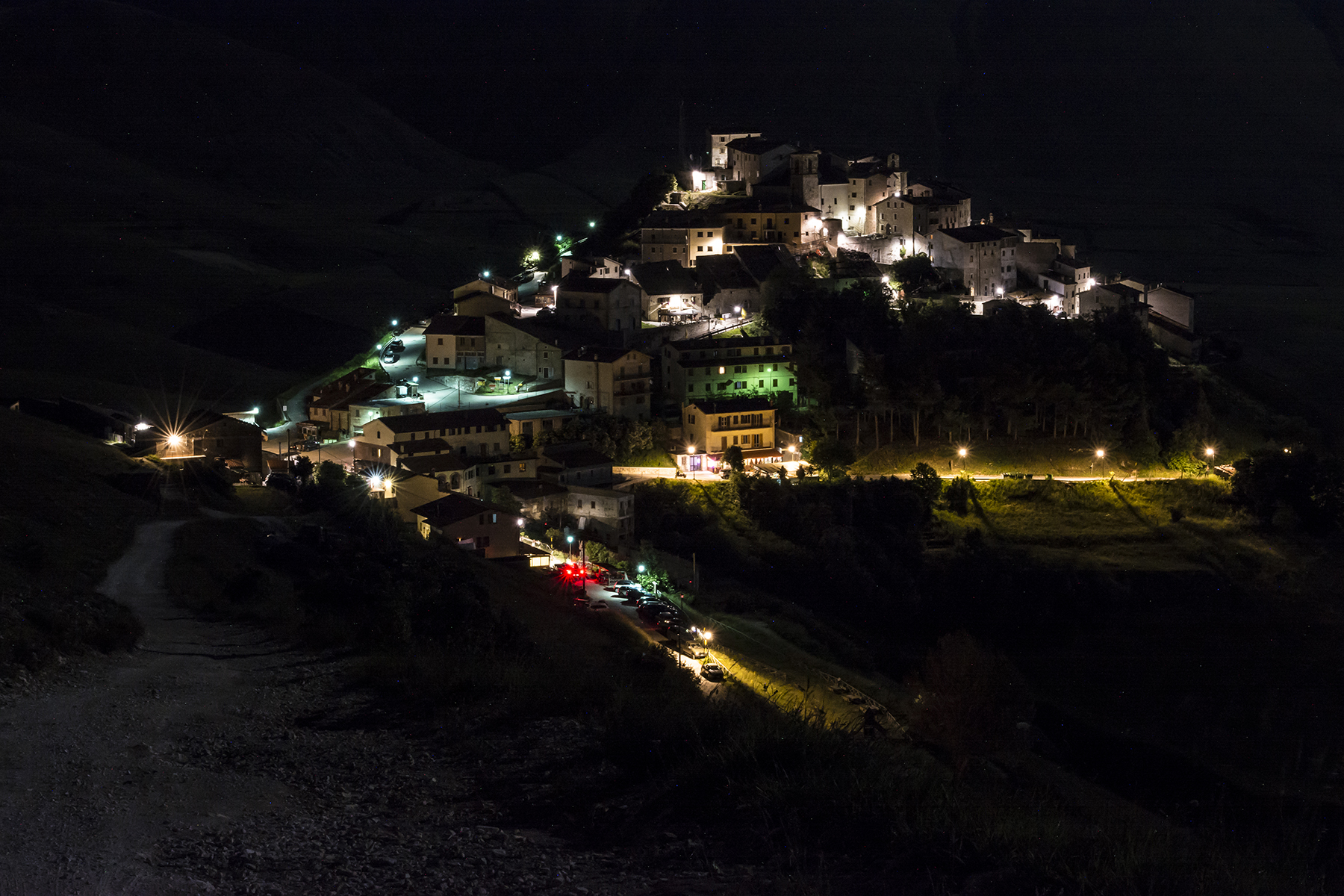 Congratulations to Castelluccio and all the earthquake victims countries...