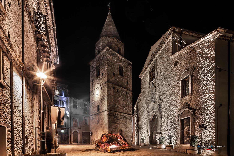Mother Church and bell tower - Longobucco - (cs)...