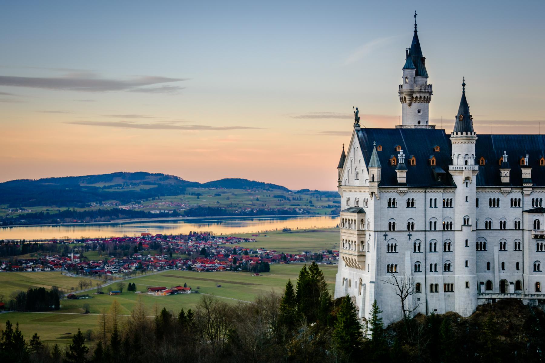 Neuschwanstein and more ......