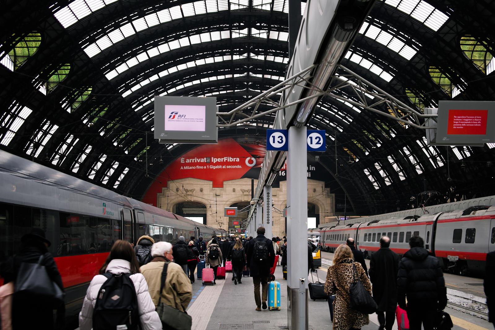 Milan Central Station...