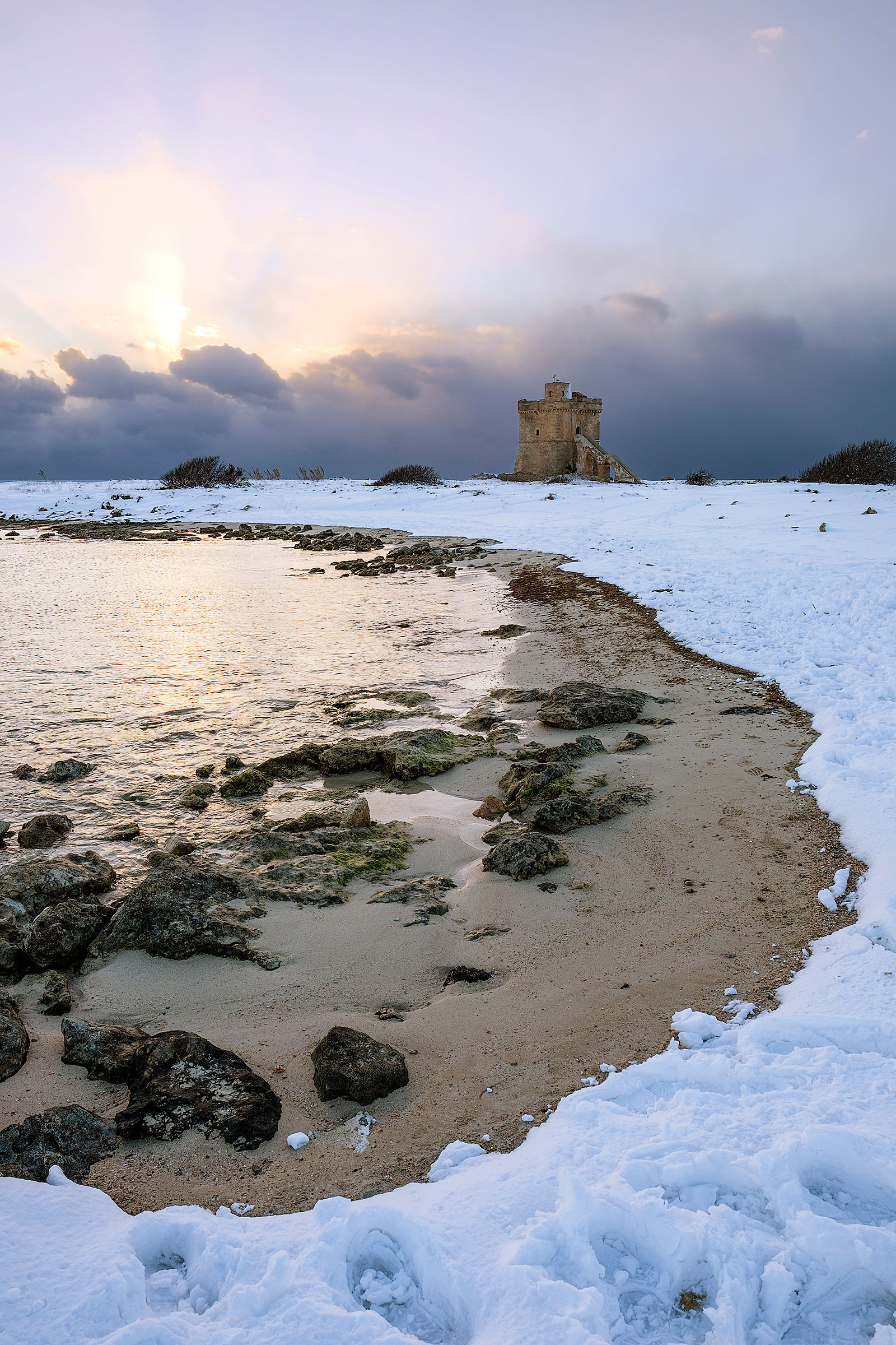 Snowy Torre Squillace...