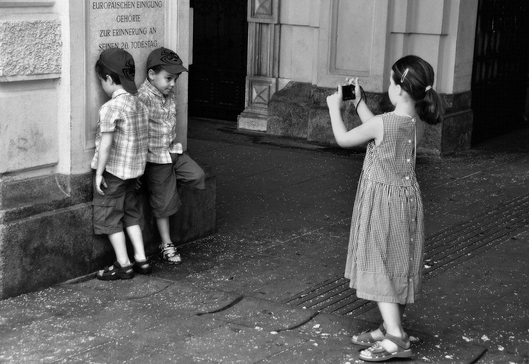 mischievous children...