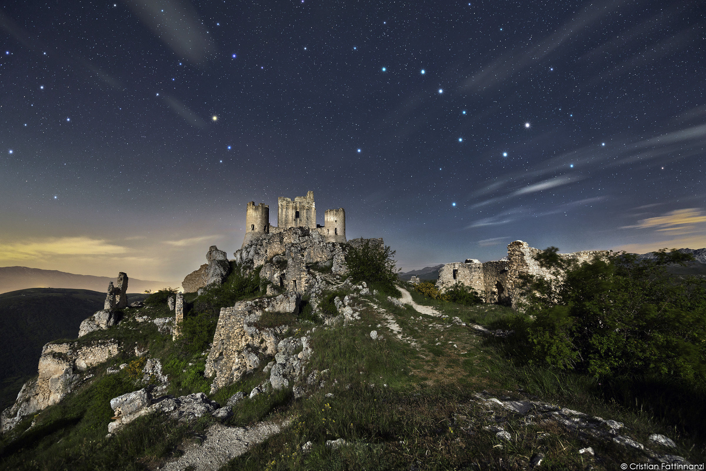The Big Dipper arrives at the Castle...