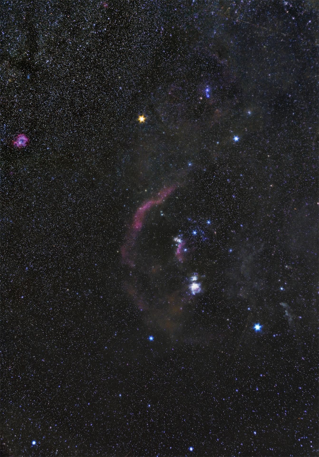 Orion & Barnard's Loop...