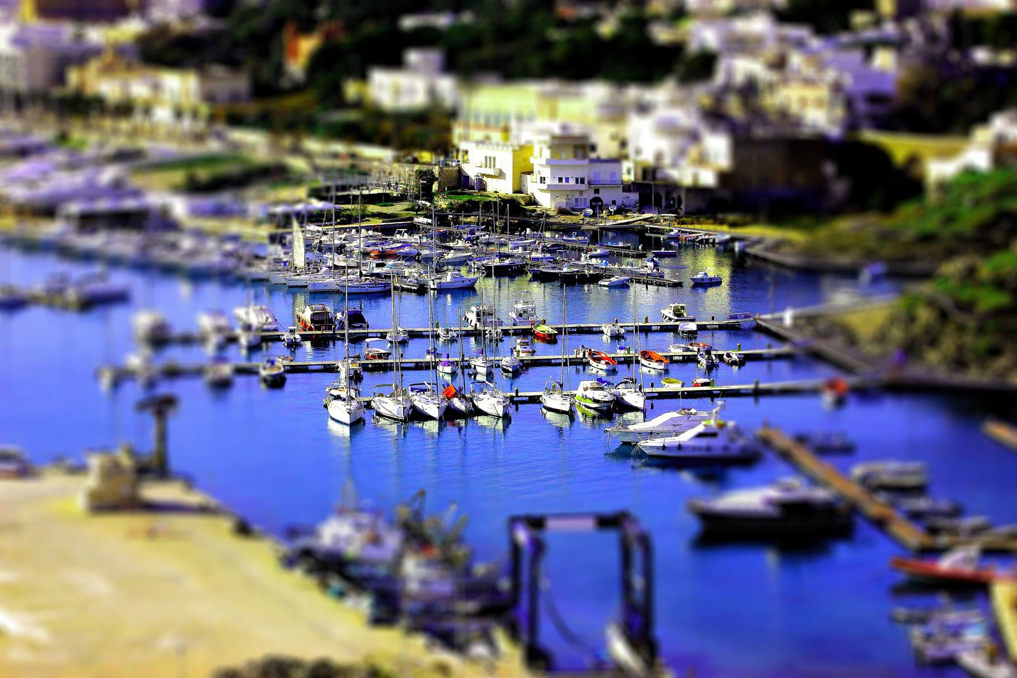 Port of santa maria di Leuca...