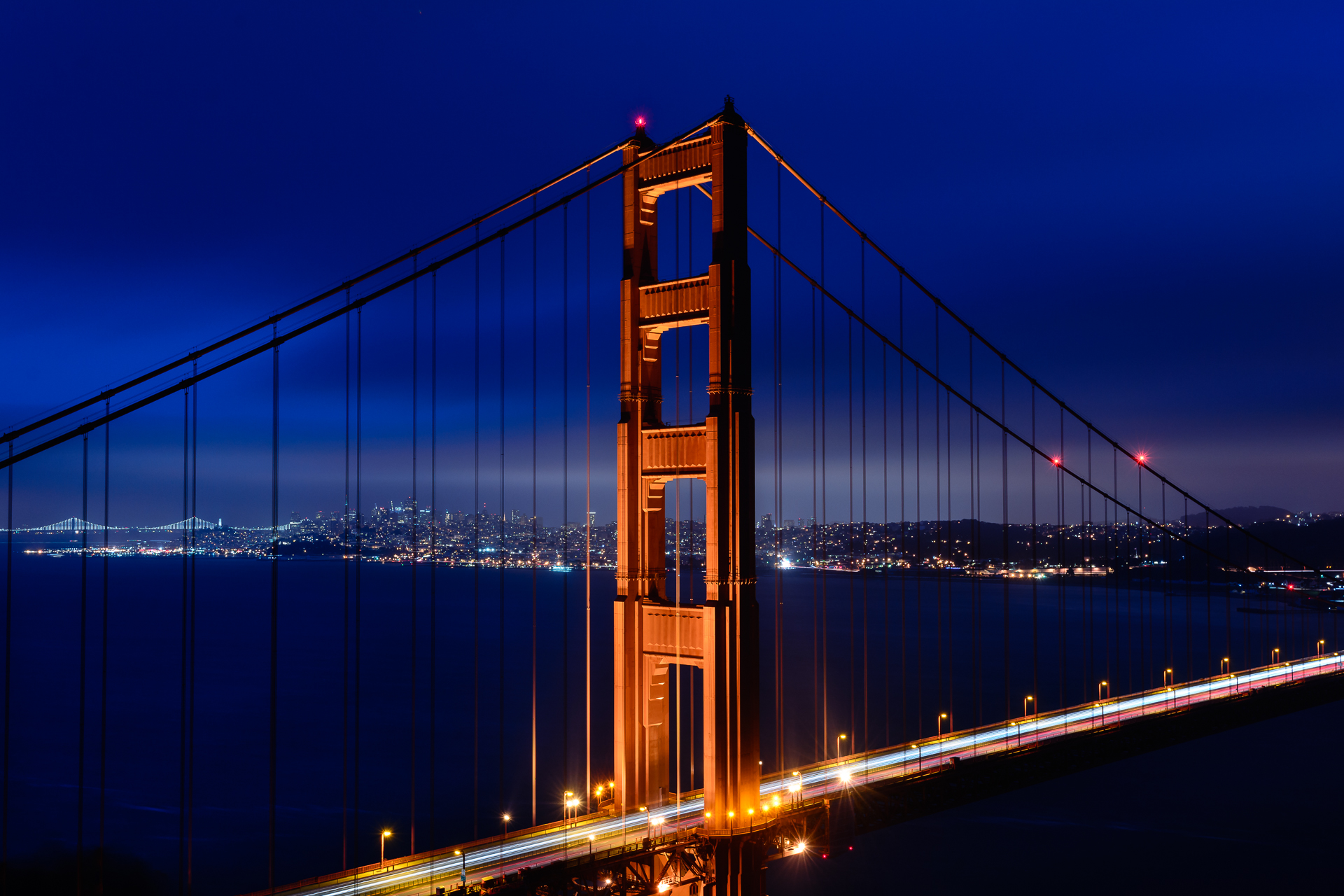 Over the Golden Gate...