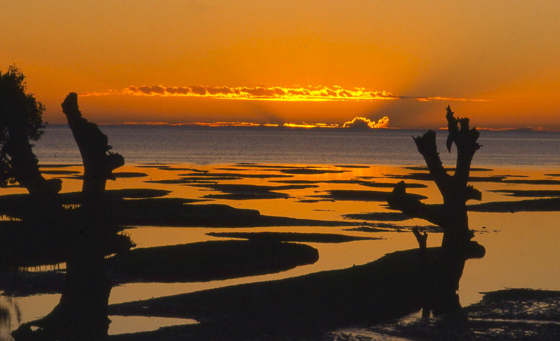 Sunset over the sea - Magagascar...