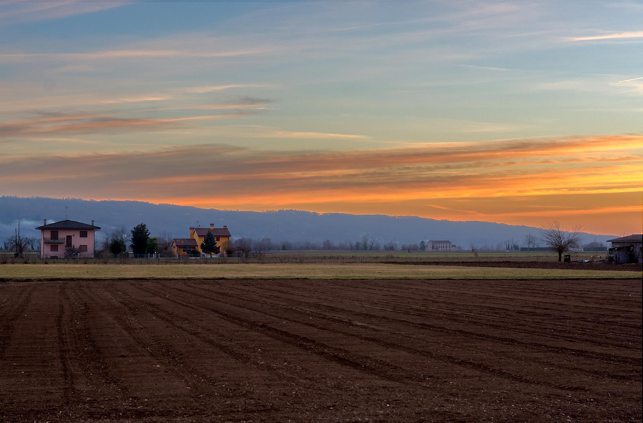 Sunset on Montello...