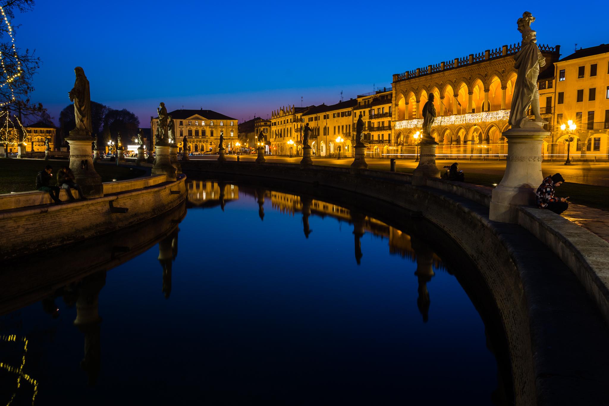 Ora blu Prato della Valle - Padova...