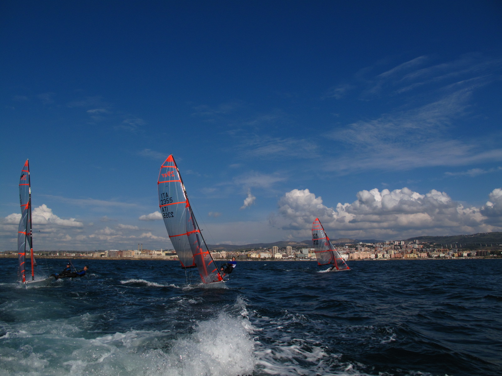 Freedom at sea...