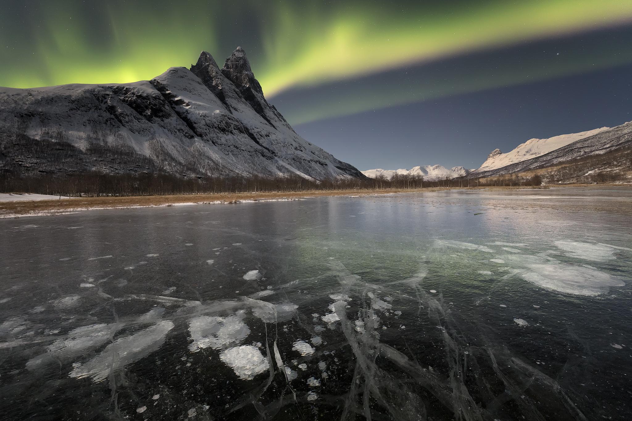 Aurora lagoon...